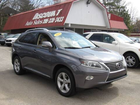 2014 Lexus RX 350 for sale at Discount Auto Sales in Pell City AL