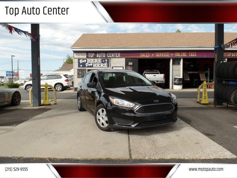 2015 Ford Focus for sale at Top Auto Center in Quakertown PA