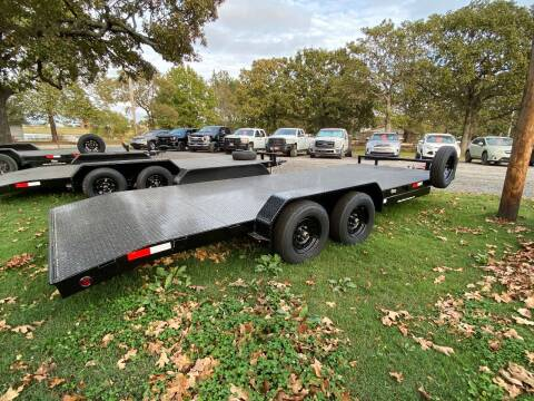 2020 HD Flatbed Car Hauler Trailer for sale at TINKER MOTOR COMPANY in Indianola OK