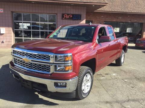 2015 Chevrolet Silverado 1500 for sale at Pat's Auto Sales, Inc. in West Springfield MA