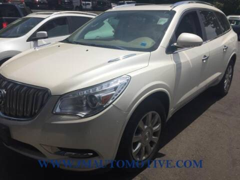2015 Buick Enclave for sale at J & M Automotive in Naugatuck CT