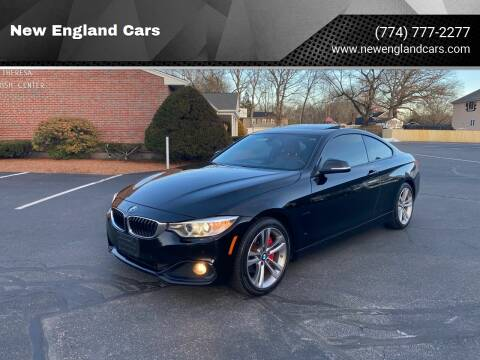 2014 BMW 4 Series for sale at New England Cars in Attleboro MA