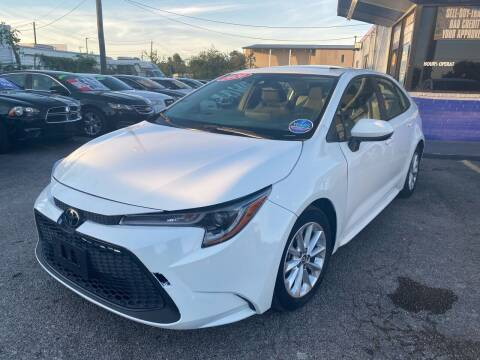 2020 Toyota Corolla for sale at Cow Boys Auto Sales LLC in Garland TX