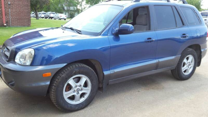 2006 Hyundai Santa Fe for sale at GBS Sales in Great Bend ND
