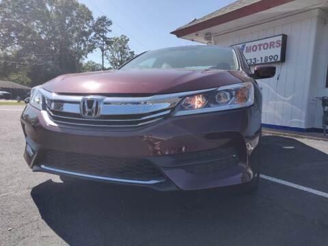 2017 Honda Accord for sale at R3A USA Motors in Lawrenceville GA
