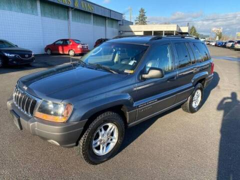 2002 Jeep Grand Cherokee for sale at TacomaAutoLoans.com in Tacoma WA