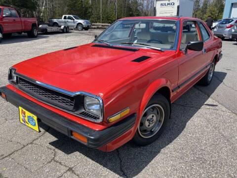 1979 Honda Prelude for sale at Granite Auto Sales in Spofford NH
