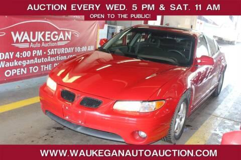 2003 Pontiac Grand Prix for sale at Waukegan Auto Auction in Waukegan IL