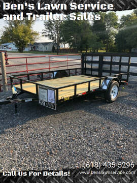2020 Trailer Express 12'Utility for sale at Ben's Lawn Service and Trailer Sales in Benton IL