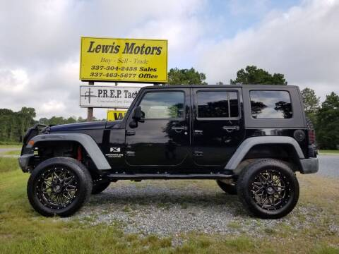 2007 Jeep Wrangler Unlimited for sale at Lewis Motors LLC in Deridder LA