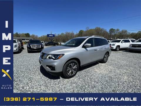2017 Nissan Pathfinder for sale at Impex Auto Sales in Greensboro NC