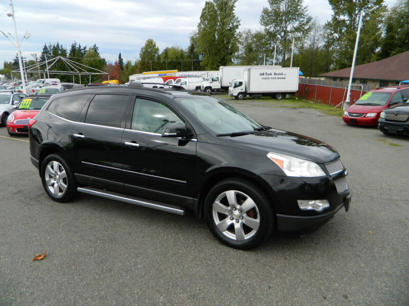 2011 Chevrolet Traverse for sale at J & R Motorsports in Lynnwood WA