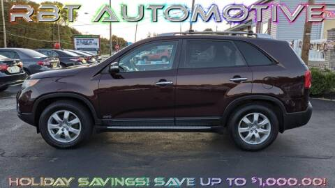 2012 Kia Sorento for sale at RBT Automotive LLC in Perry OH