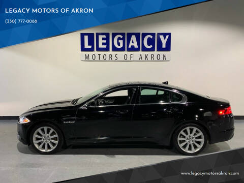 2013 Jaguar XF for sale at LEGACY MOTORS OF AKRON in Akron OH