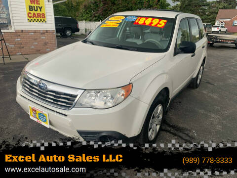 2010 Subaru Forester for sale at Excel Auto Sales LLC in Kawkawlin MI