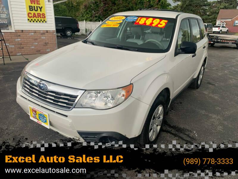 2010 Subaru Forester for sale at Excel Auto Sales LLC in Kawkawlin MI