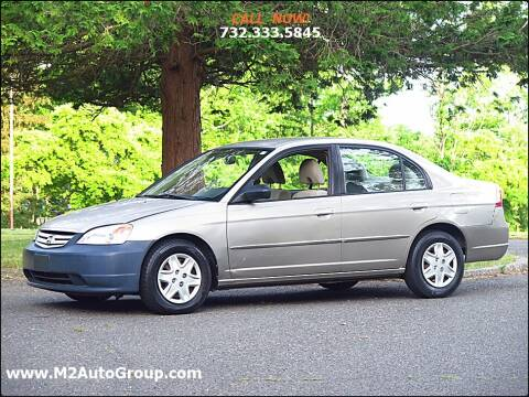 2003 Honda Civic for sale at M2 Auto Group Llc. EAST BRUNSWICK in East Brunswick NJ