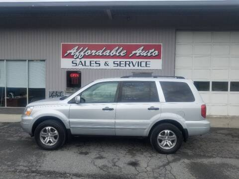 2004 Honda Pilot for sale at Affordable Auto Sales & Service in Berkeley Springs WV