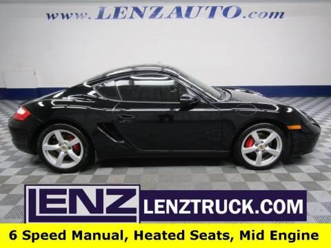 2007 Porsche Cayman for sale at LENZ TRUCK CENTER in Fond Du Lac WI