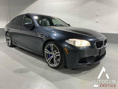 2013 BMW M5 for sale at AutoCar Exotics in Medley FL