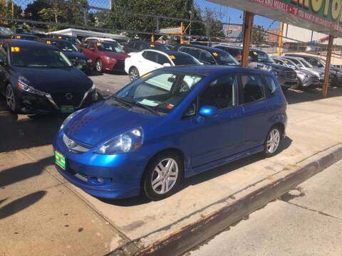 2007 Honda Fit for sale at Sylhet Motors in Jamacia NY