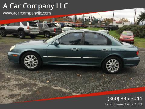 2004 Hyundai Sonata for sale at A Car Company LLC in Washougal WA