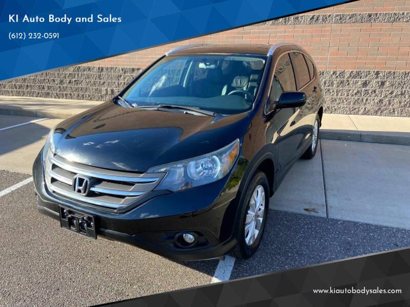 2014 Honda CR-V for sale at KI Auto Body and Sales in Lino Lakes MN