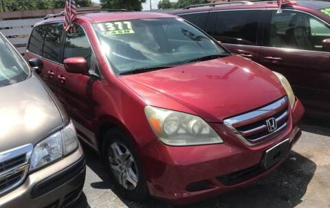 2005 Honda Odyssey for sale at Klein on Vine in Cincinnati OH