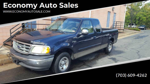 2002 Ford F-150 for sale at Economy Auto Sales in Dumfries VA