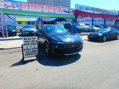 2017 Maserati Levante for sale at Cedano Auto Mall Inc in Bronx NY