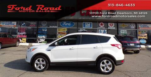 2014 Ford Escape for sale at Ford Road Motor Sales in Dearborn MI