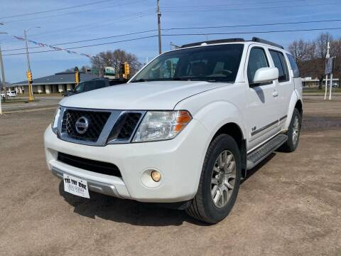 2008 Nissan Pathfinder for sale at Toy Box Auto Sales LLC in La Crosse WI