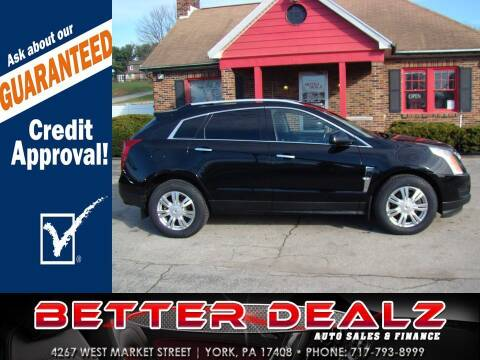 2010 Cadillac SRX for sale at Better Dealz Auto Sales & Finance in York PA