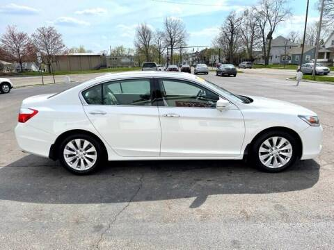 2013 Honda Accord for sale at Jacobs Motors LLC in Bellefontaine OH