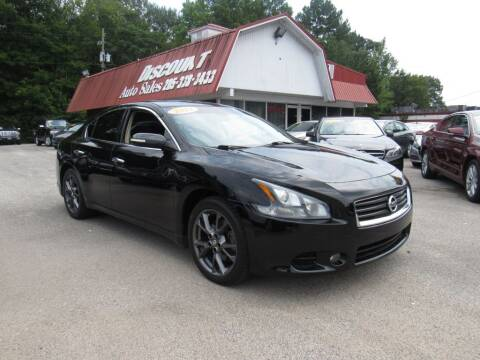 2012 Nissan Maxima for sale at Discount Auto Sales in Pell City AL