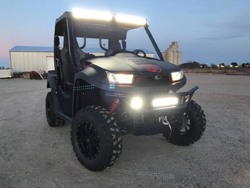 2018 Kymco UXV 700i 4x4 side by side for sale at Double TT Auto in Montezuma KS
