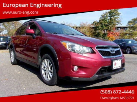 2014 Subaru XV Crosstrek for sale at European Engineering in Framingham MA