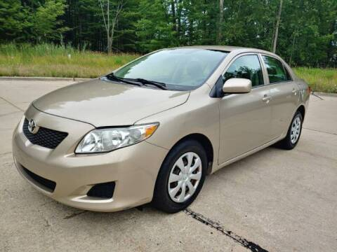 2009 Toyota Corolla for sale at Autolika Cars LLC in North Royalton OH