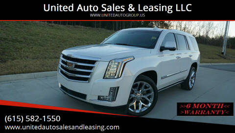 2016 Cadillac Escalade for sale at United Auto Sales & Leasing LLC in La Vergne TN