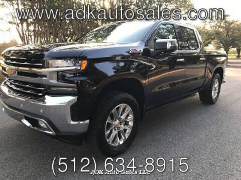 2019 Chevrolet Silverado 1500 for sale at ADK AUTO SALES LLC in Austin TX
