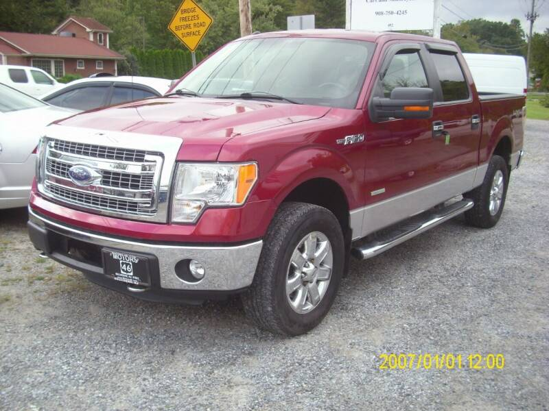 2013 Ford F-150 for sale at Motors 46 in Belvidere NJ