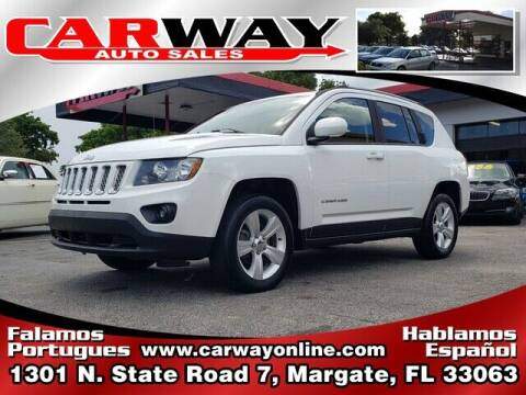 2016 Jeep Compass for sale at CARWAY Auto Sales in Margate FL
