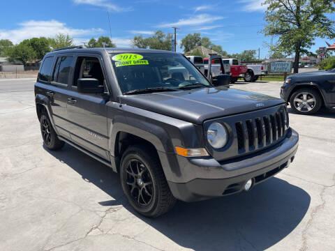 2015 Jeep Patriot for sale at CHURCHILL AUTO SALES in Fallon NV