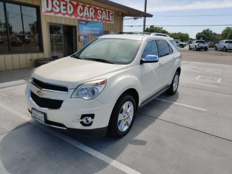 2013 Chevrolet Equinox for sale at California Motors in Lodi CA