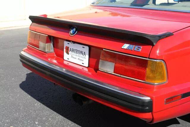1988 BMW M6 4