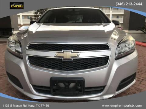 2013 Chevrolet Malibu for sale at EMPIREIMPORTSTX.COM in Katy TX