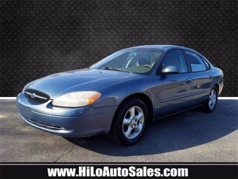 2001 Ford Taurus for sale at Hi-Lo Auto Sales in Frederick MD