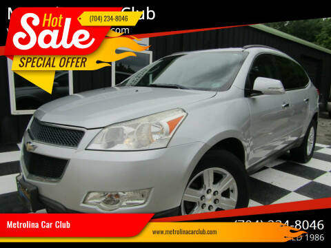 2012 Chevrolet Traverse for sale at Metrolina Car Club in Matthews NC