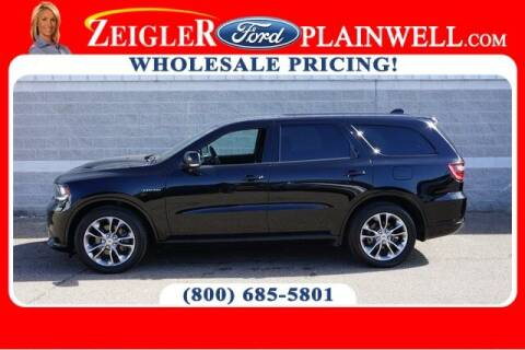 2020 Dodge Durango for sale at Zeigler Ford of Plainwell- Jeff Bishop in Plainwell MI