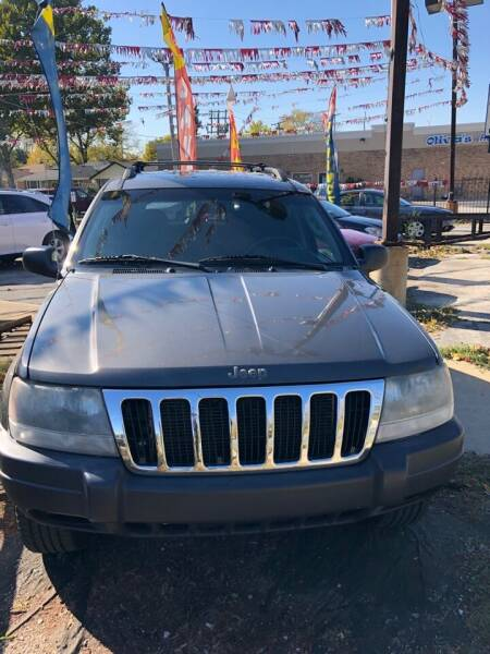 2003 Jeep Grand Cherokee for sale at Carfast Auto Sales in Dolton IL